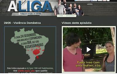 OBSERVATÓRIO DA VIOLÊNCIA DCM - Você viu A LIGA ontem?