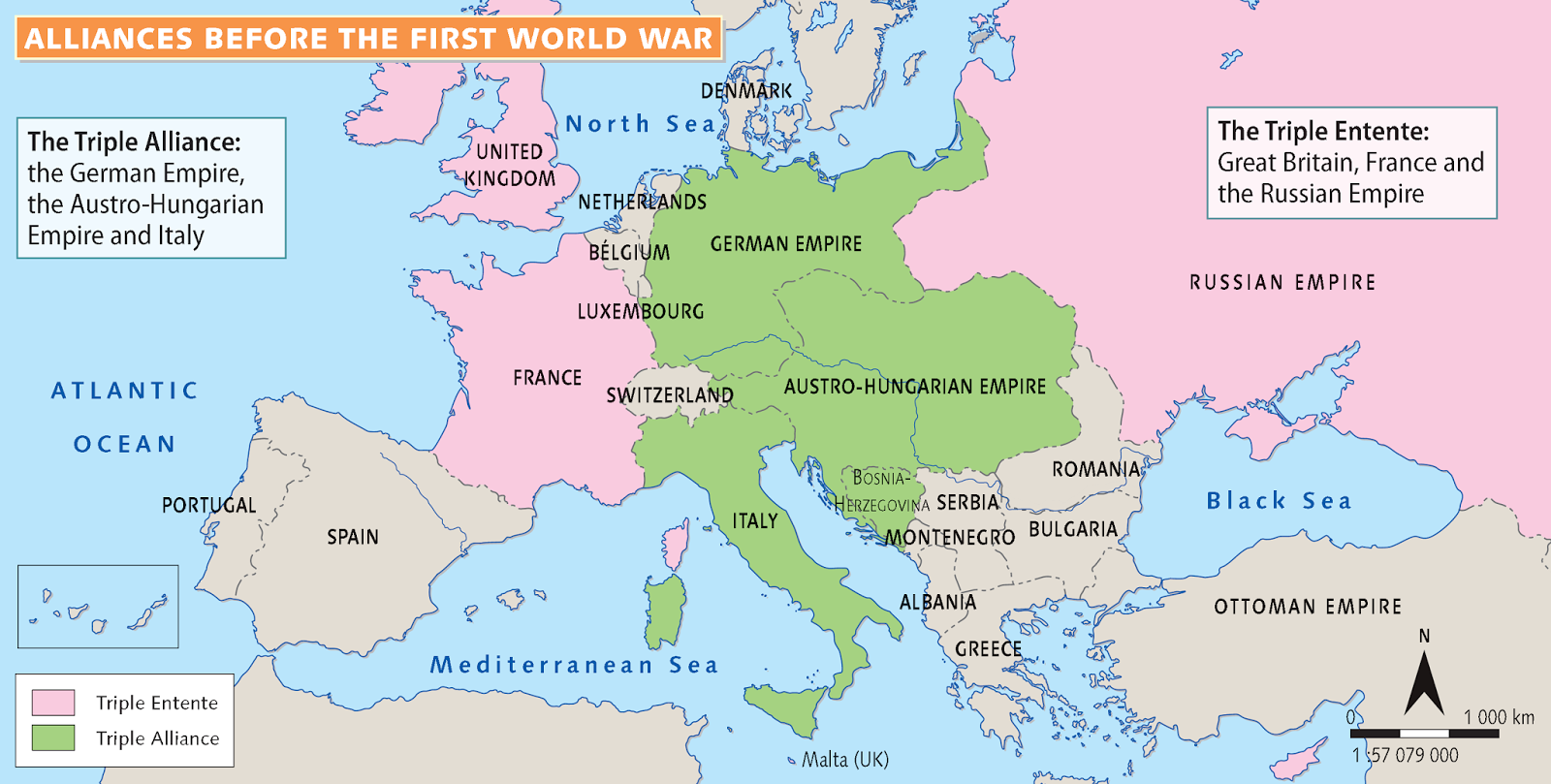 the role of alliances in the first world war The allied powers  the powers known as the allies in world war i were predominantly: great britain, france, russia and italy italy initially had a treaty with germany, but recanted and secretly allied with the allied powers.