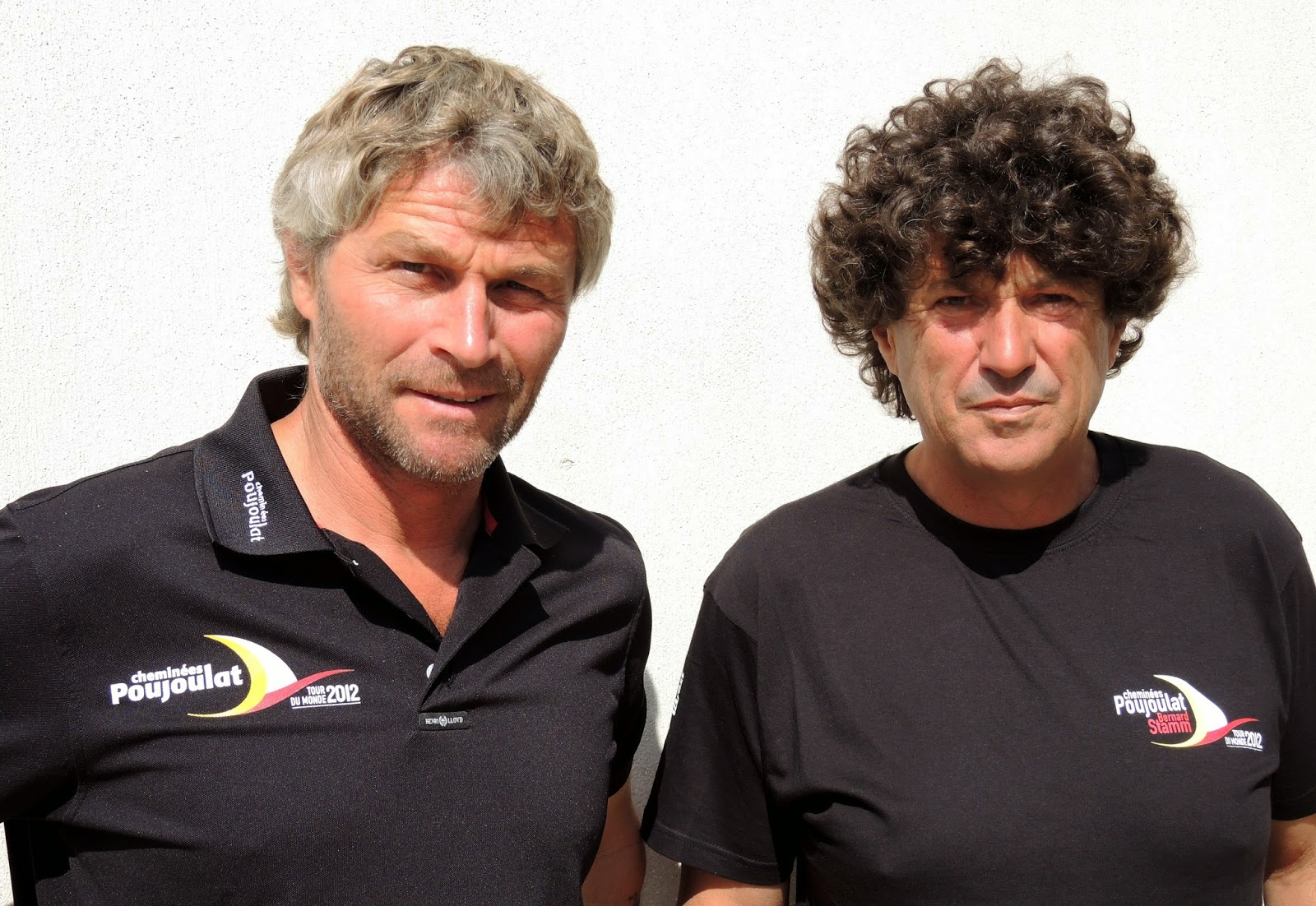 Jean Le Cam et Bernard Stamm, un duo à suivre sur la Barcelona World Race.