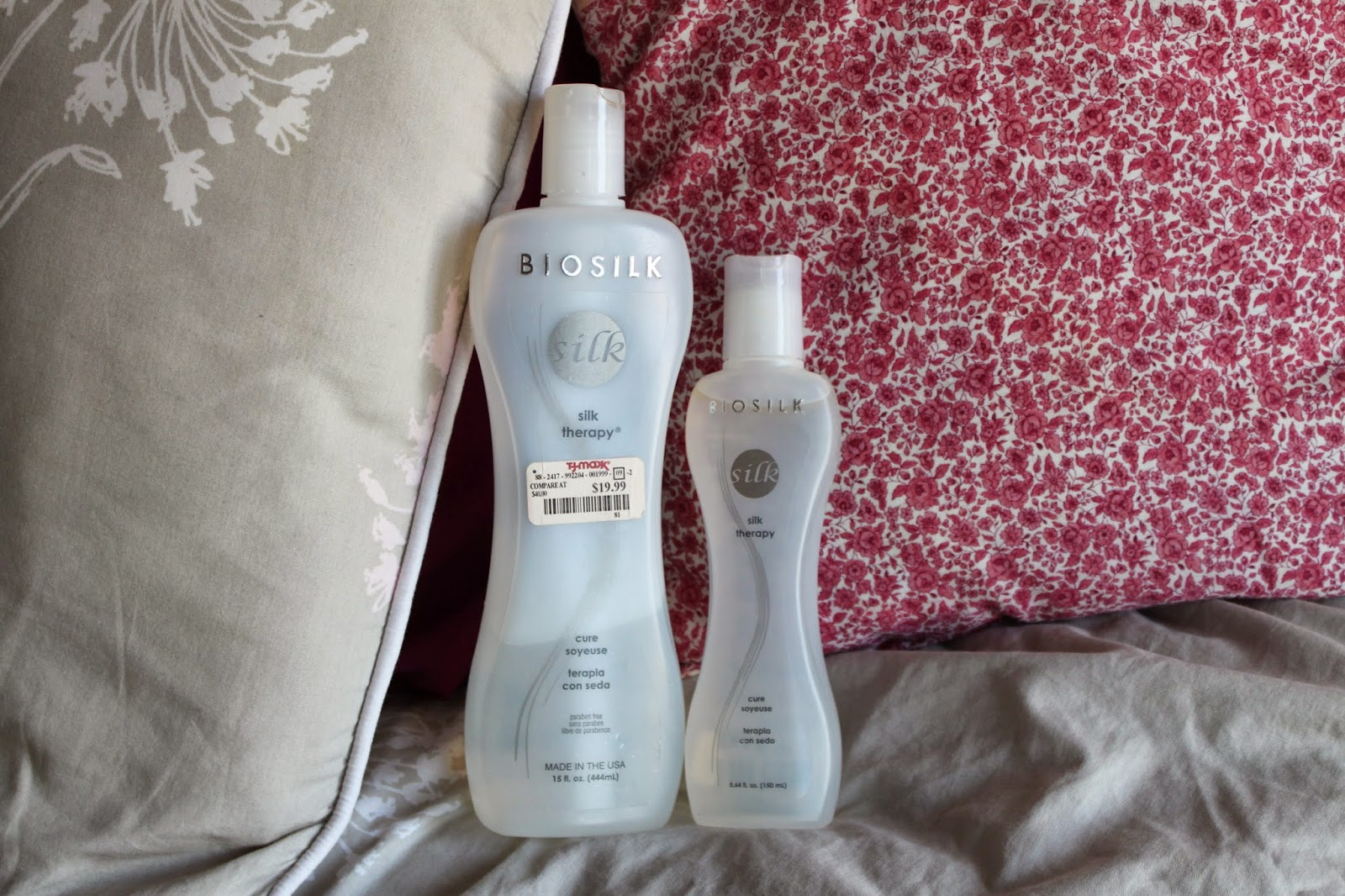 Biosilk Silk Therapy Oil Product Review Hair Care