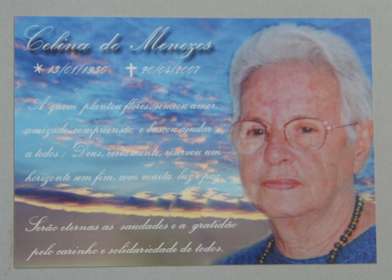 Falecimento  Missa  S  Timo Dia  Santinho  Lembran  A De Falecimento