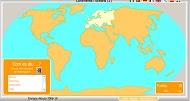 Mapa Mundi interactiu: continents i oceans 1
