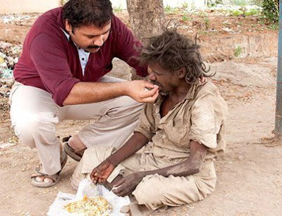 NARAYANAN KRISHNAN QUIT HIS JOB TO FEED AND CARE FOR THE HOMELESS, ILL, AND ELDERLY OF HIS COMMUNITY