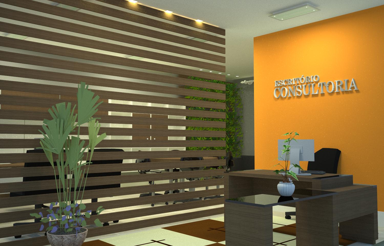 FRED FRAZÃO: Design de Interiores Escritório 03 #CA8101 1500x960