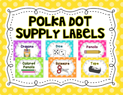 https://www.teacherspayteachers.com/Product/Polka-Dot-Classroom-Supply-Labels-2065719