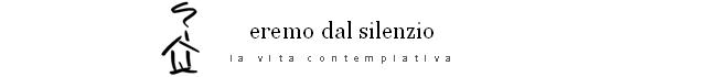 eremo dal silenzio