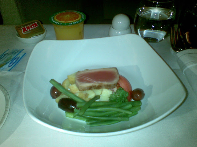 gluten free meal business class Singapore Airlines