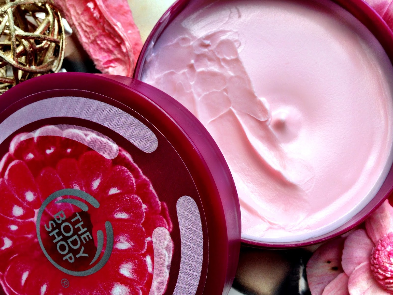 The Body Shop Raspberry Range Body Butter