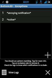"""Buttonled es Una Aplicacion similar a noled: Permite tener notificaciones sin tener la luz led. Sin embargo a Diferencia de Noled Esta Aplicacion No hace Uso de la Pantalla; Buttonled sólo utiliza retroiluminación de los botones de hardware """"(la pantalla permanece apagada). Es personalizable hasta cierto punto y que Funciones que a FuturoIránMuy Bien en tu Android. Características: status bar notifications + missed call/unread text support; pause for some user defined time on proximity (e.g. If phone is turned down, or is in your pocket); turn button backlight for x seconds, then off for y seconds; notification exceptions (e.g. To"""