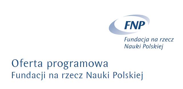 Fragment okładki Oferty programowej FNP na 2015 r.