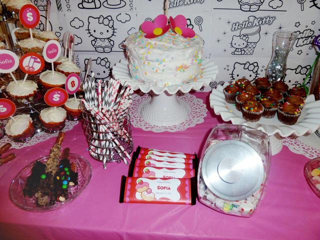 Decoracion Hello Kitty Para Cumplea?os ~ Original Decoraci?n Para Mesa De Pastel Hello Kitty Pictures