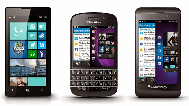 BlackBerry Y Windows Phone