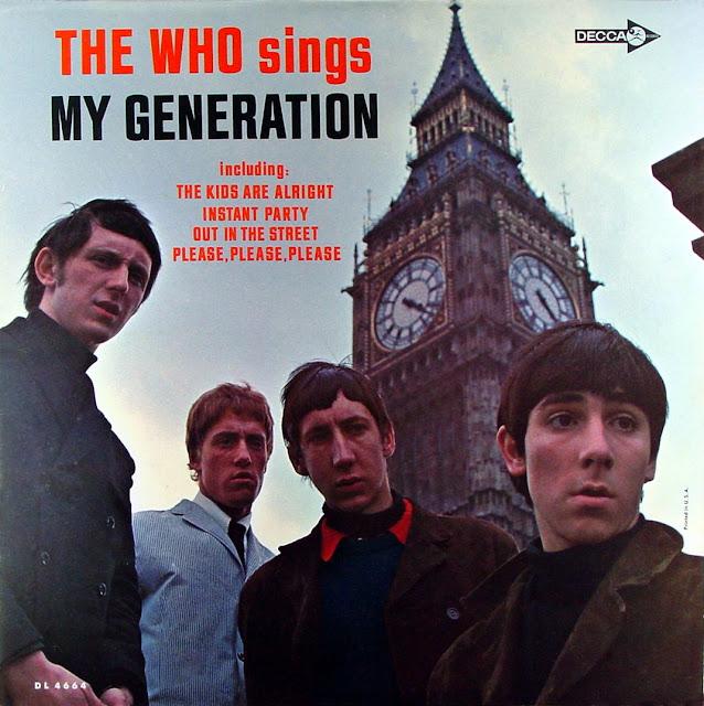 Vídeo y Letra de la Canción My Generation por The Who