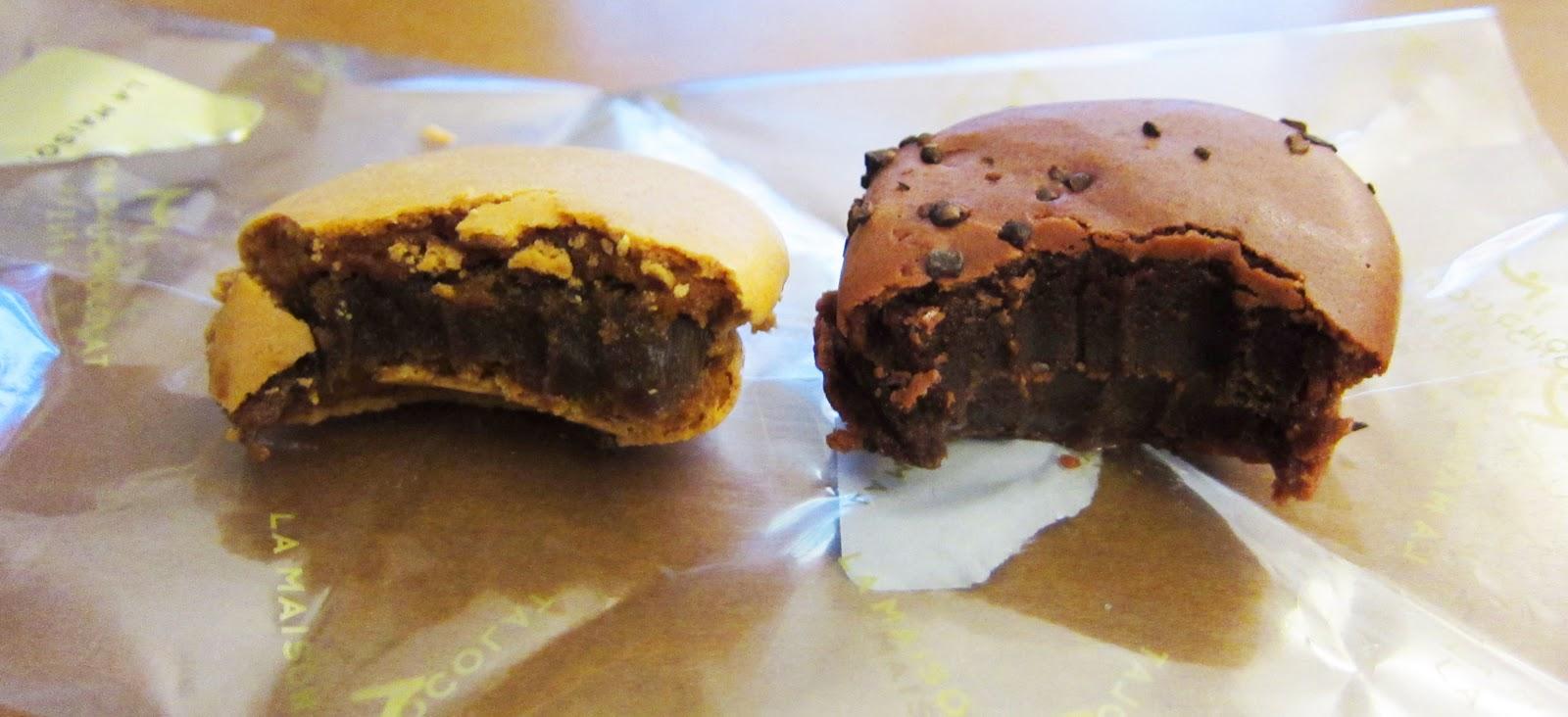 Tasty eating la maison du chocolat for Macarons la maison du chocolat