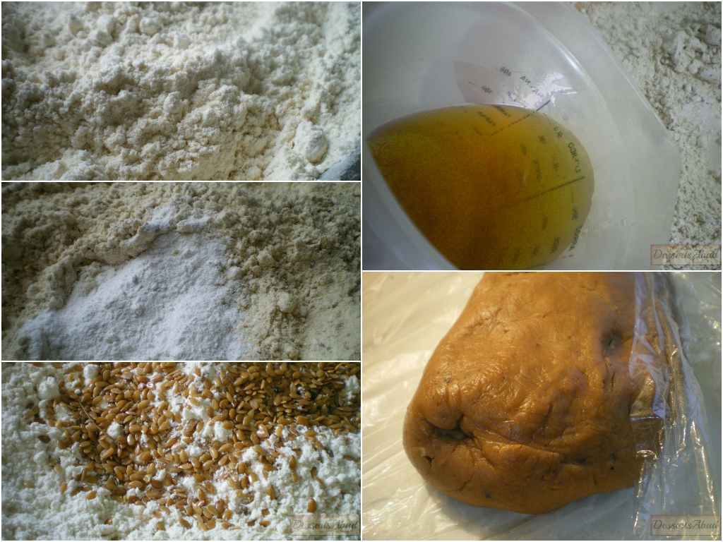Rosquillas de anís glaseadas (elaboración de la masa)