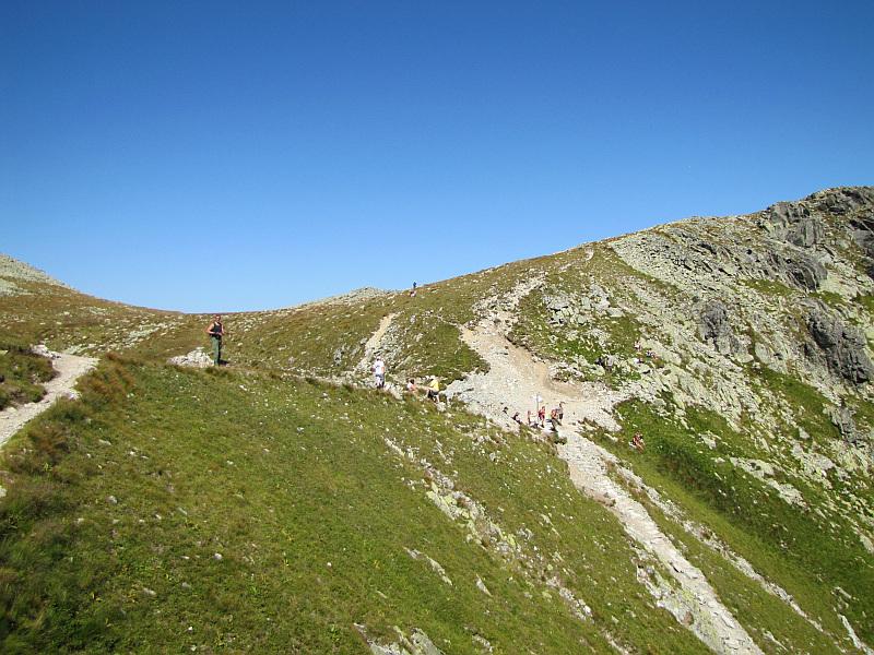 Krzyżne (2112 m n.p.m.) - skrajny punkt szlaku Orlej Perci.