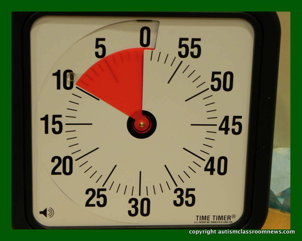 Top Twelve Tools of a Successful Autism Classroom 2 The Timer