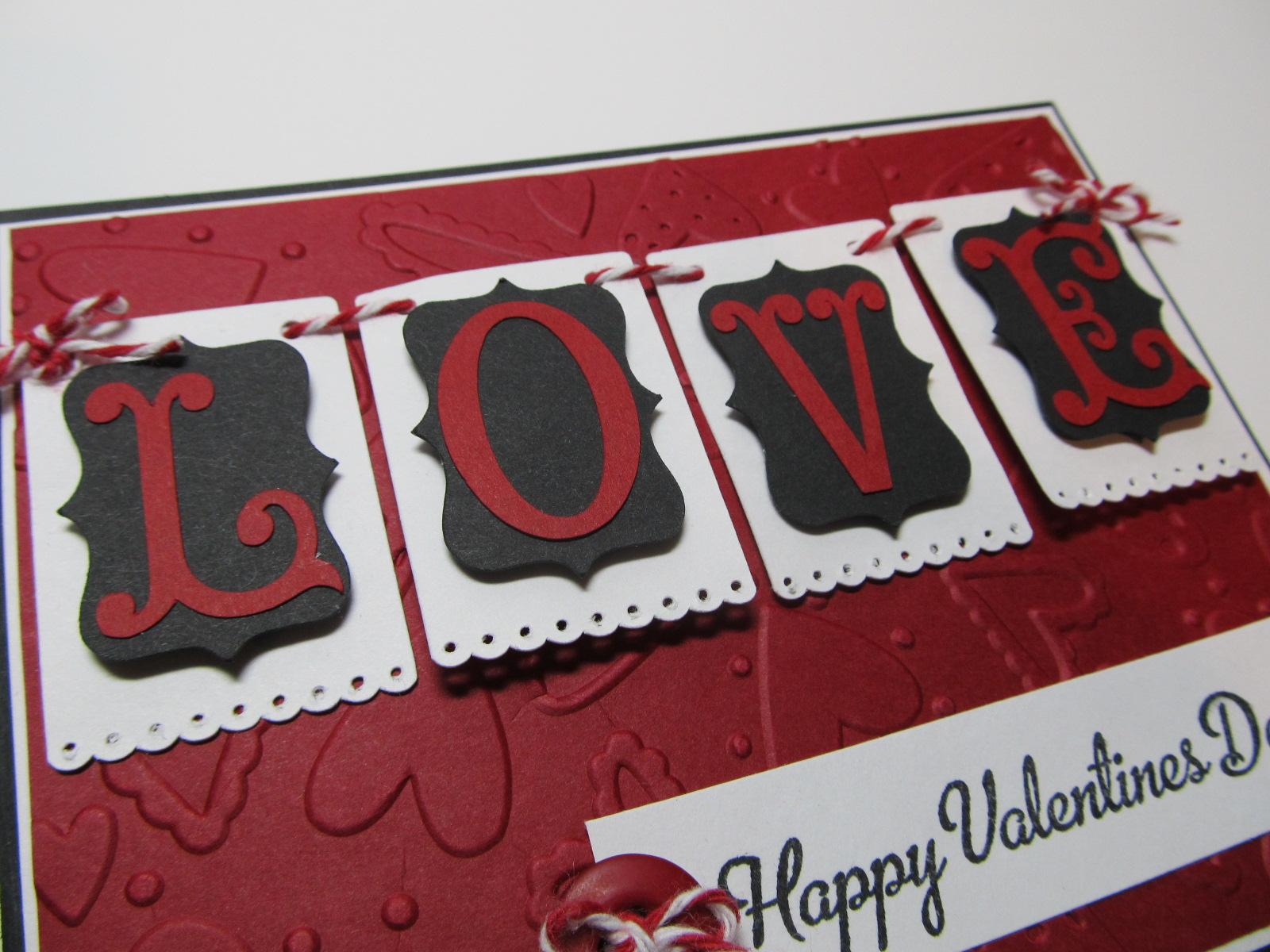 Creative Cricut Designs  More Happy Valentines Day Card