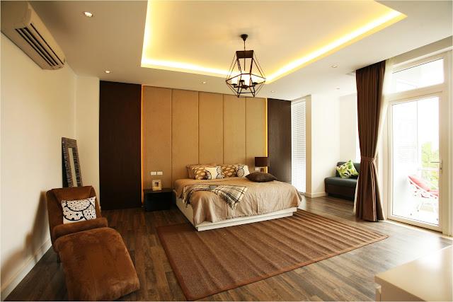 Phòng ngủ lớn tại biệt thự Villa Park