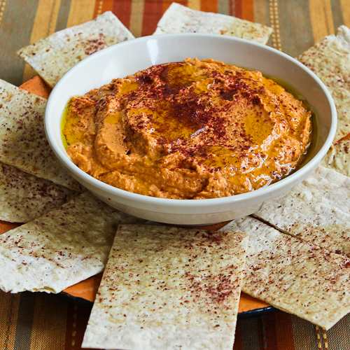 Slow Roasted Tomato Hummus
