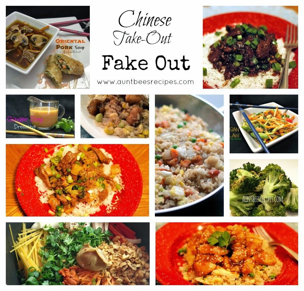 Chinese take out fake out aunt bees recipes chinese food used to be the only take out we ordered but not anymore over the past couple of years i have developed these recipes that we think tastes forumfinder Images