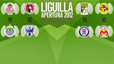 Así se jugará la Liguilla MX 2012
