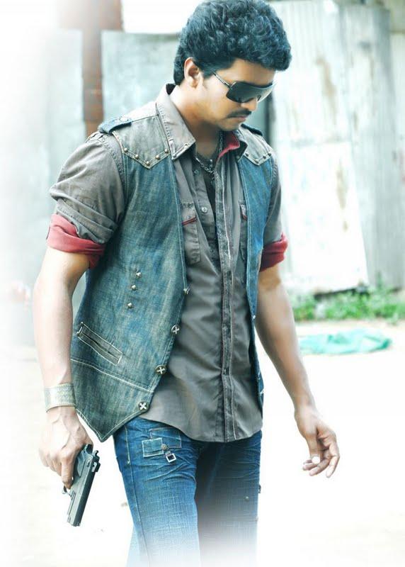 Vijay in the film VettaikaranVijay Photos In Vettaikaran