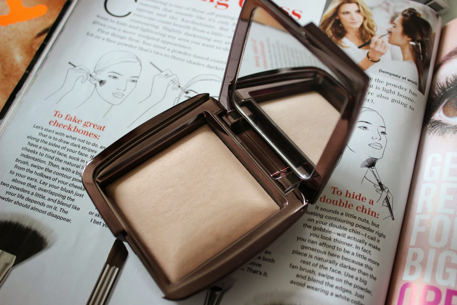 Hourglass Ambient Lighting Powder Dim Light Review L'amour Josie
