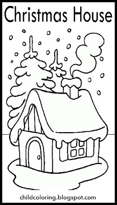 Christmas House Drawings