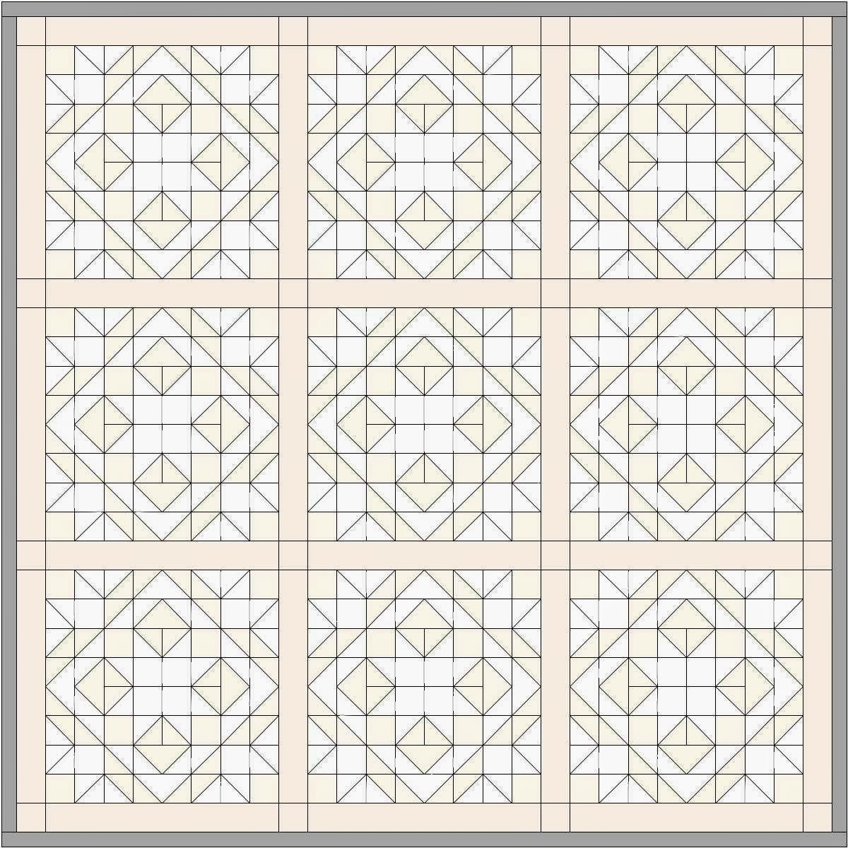 Coloring Pages Quilt Squares : Happy quilting star light bright half square triangles