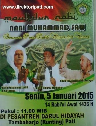 Para Habib, Ulama dan Umara Berkumpul di Pati