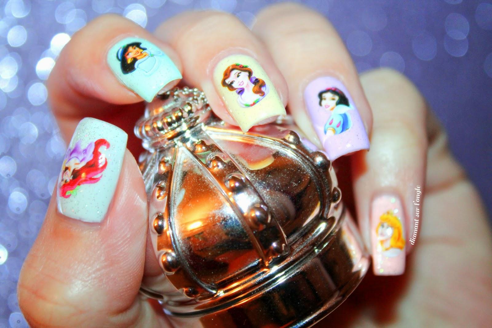 A Disney Princess Nail Art