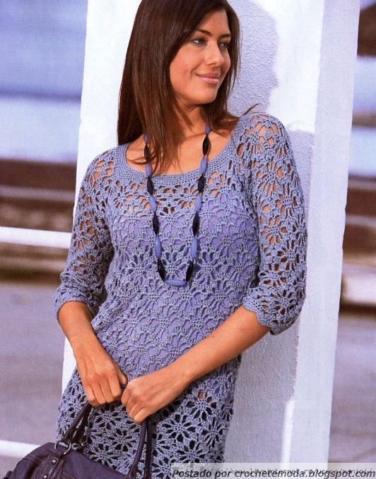 Сиреневый пуловер. 45982