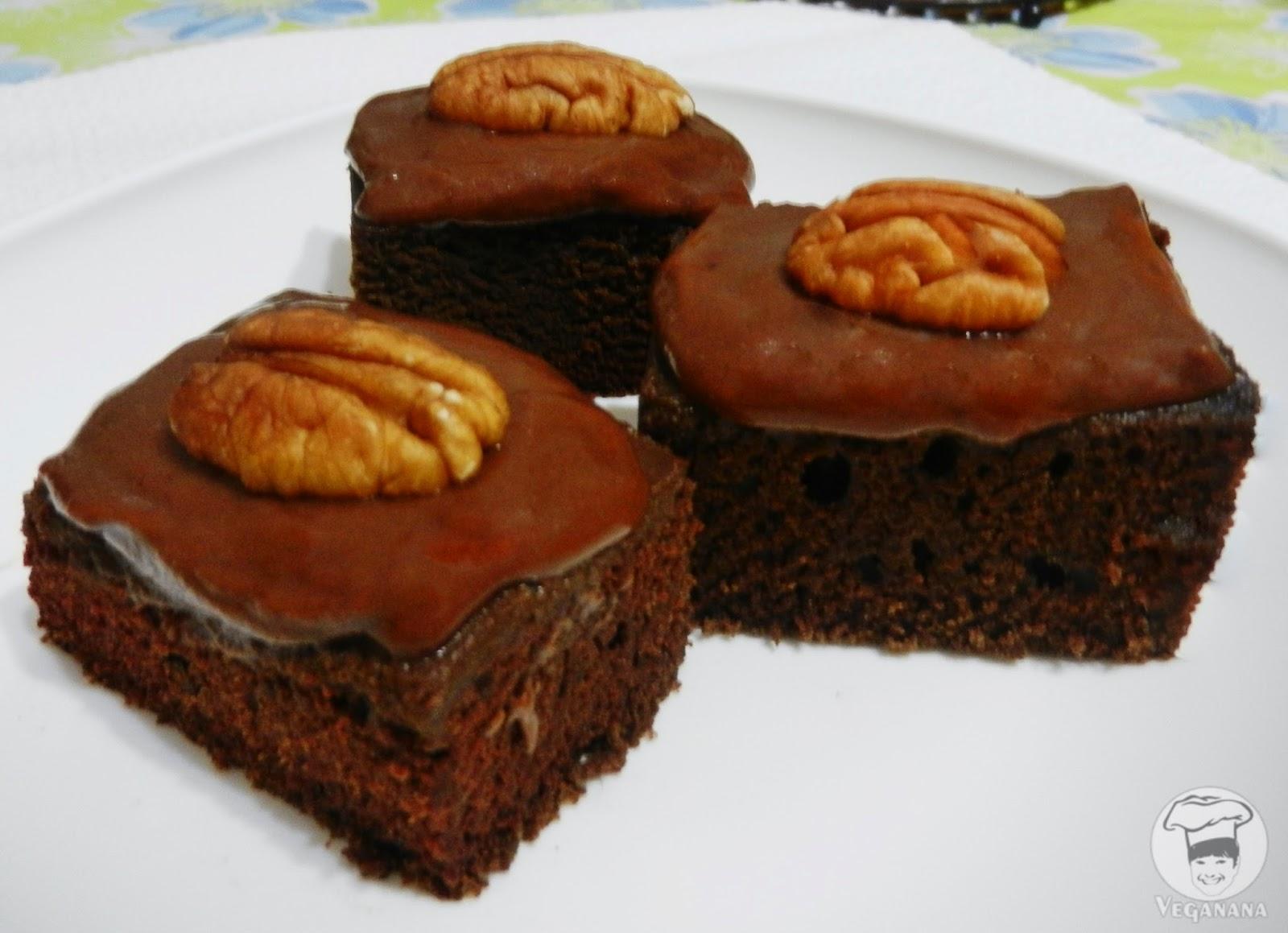 Veganana Bolo De Chocolate Fofinho
