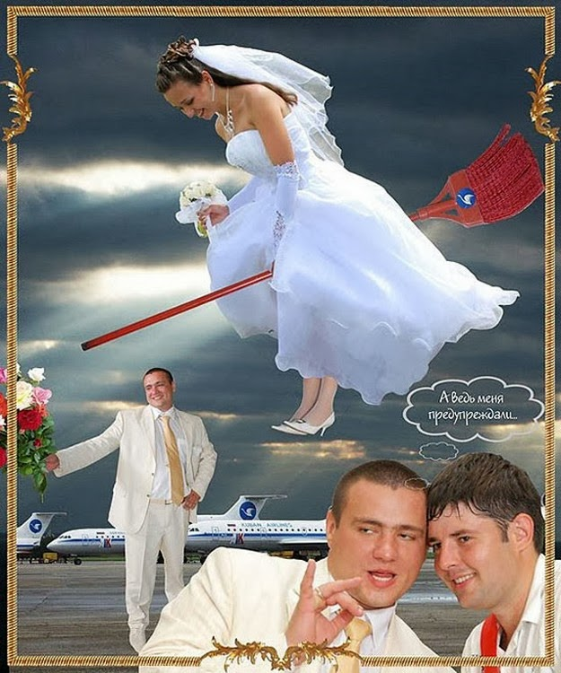 hilarious Russian wedding snaps8