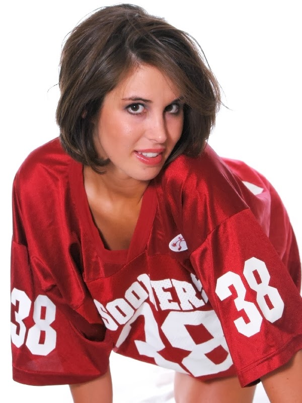 Sexy college football fans