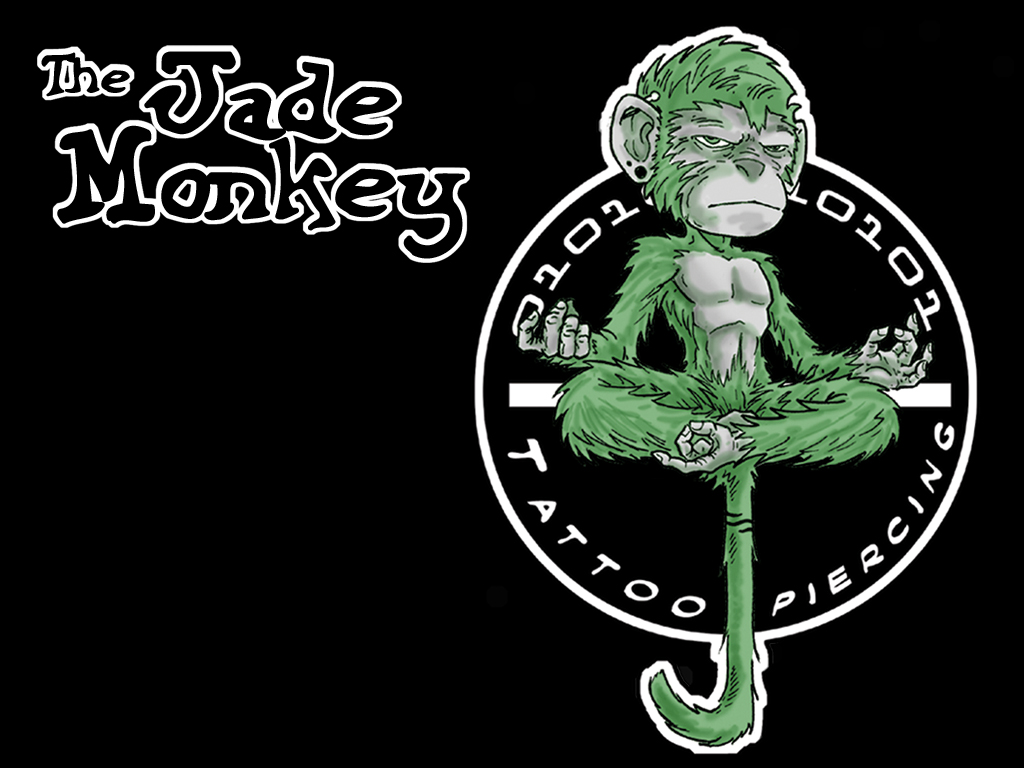 Ink works wallpapers for desktop and psp backgrounds the first jade monkey wallpaper pretty basic i know i will be making more elaborate versions soon voltagebd Image collections