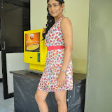 Manisha Yadav Photos in Floral Short Dress at Preminchali Movie Press Meet 5