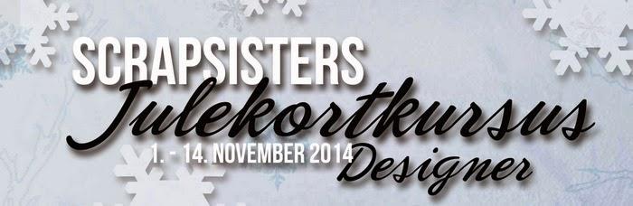 Jeg er en af designerne på SS julekortkursus