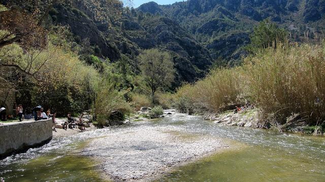 Riu Serpis a la Fàbrica de l'Infern