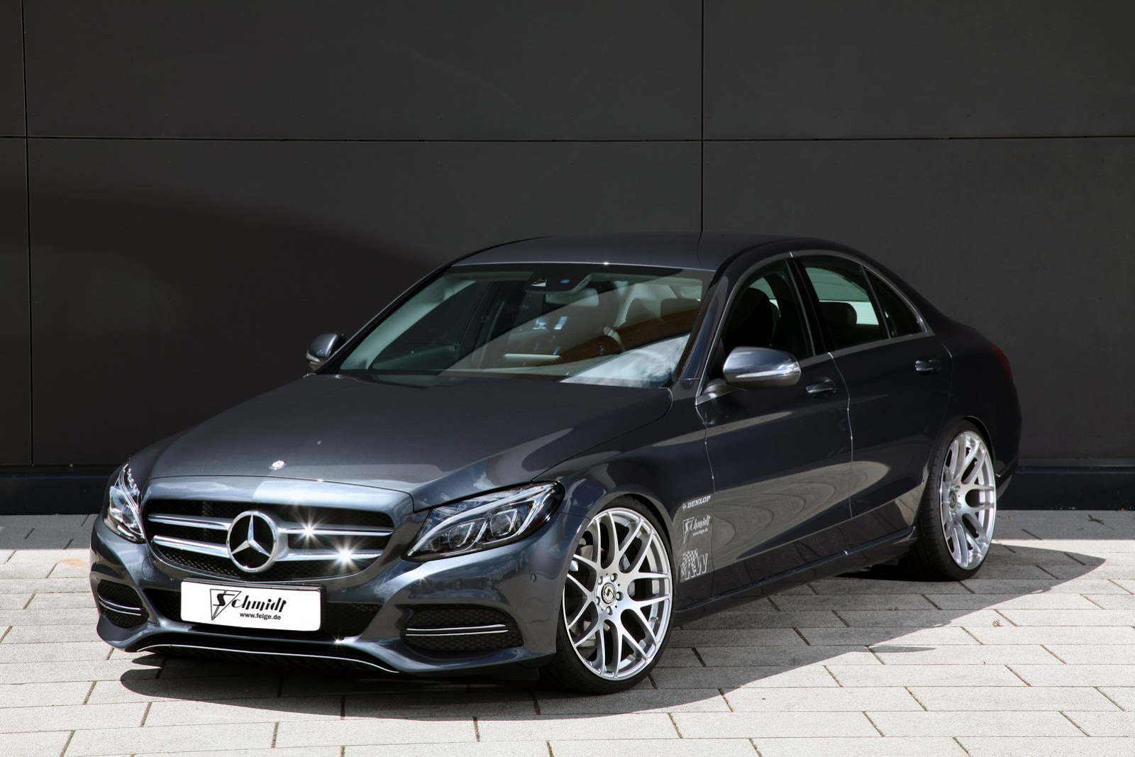 lightly tuned new mercedes benz c class looking good
