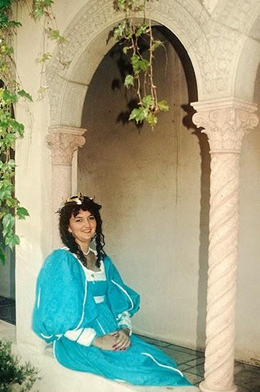 16th century Italian Renaissance dress SCA baroness @ Lady by Choice