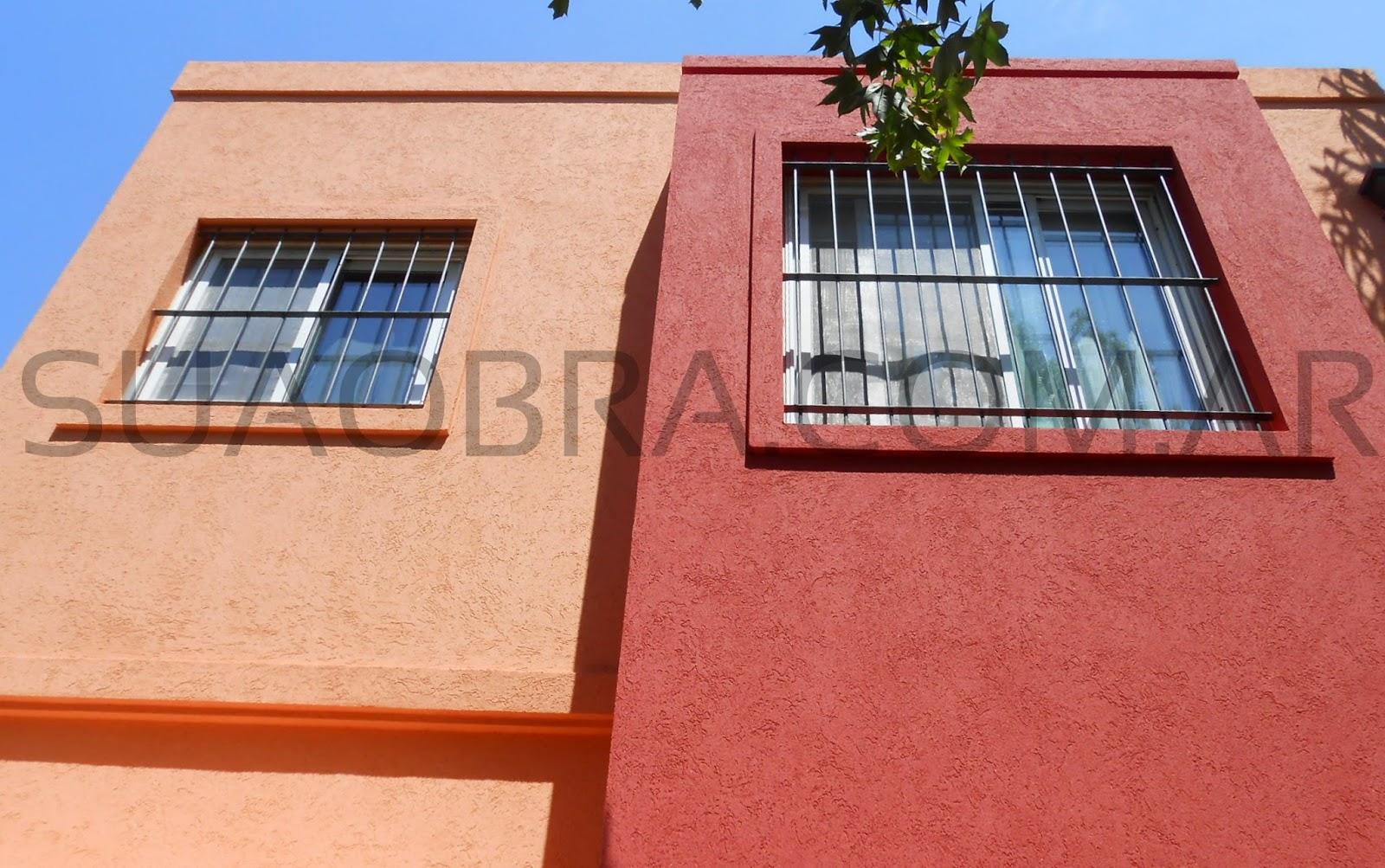 Combinacion de colores tarquini revestimiento plastico tarquini para paredes san isidro - Revestimientos de exteriores ...