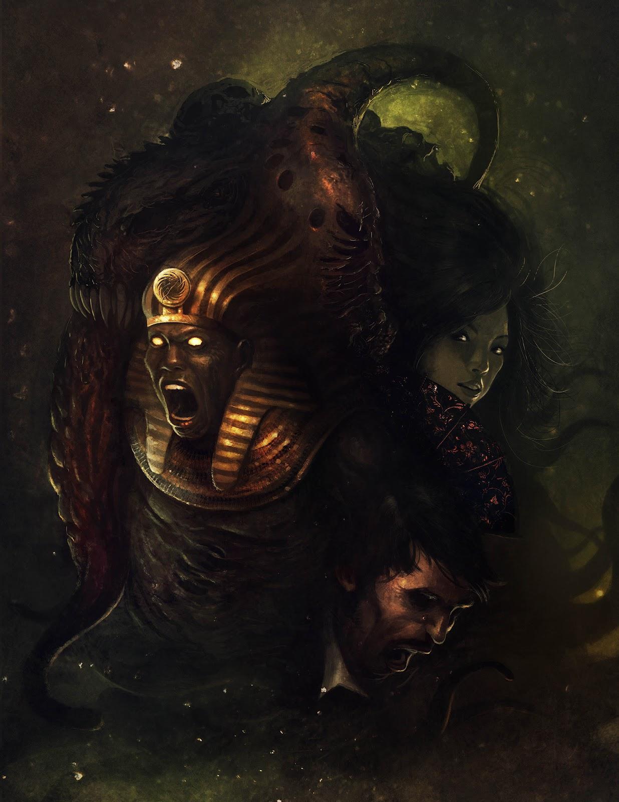 Poderosos y escalofriantes monstruos del mundo de Lovecraft