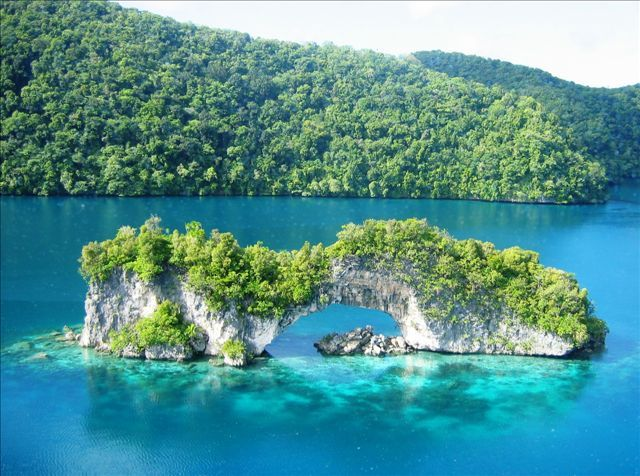 Palau Islands Micronesia Facts Pod