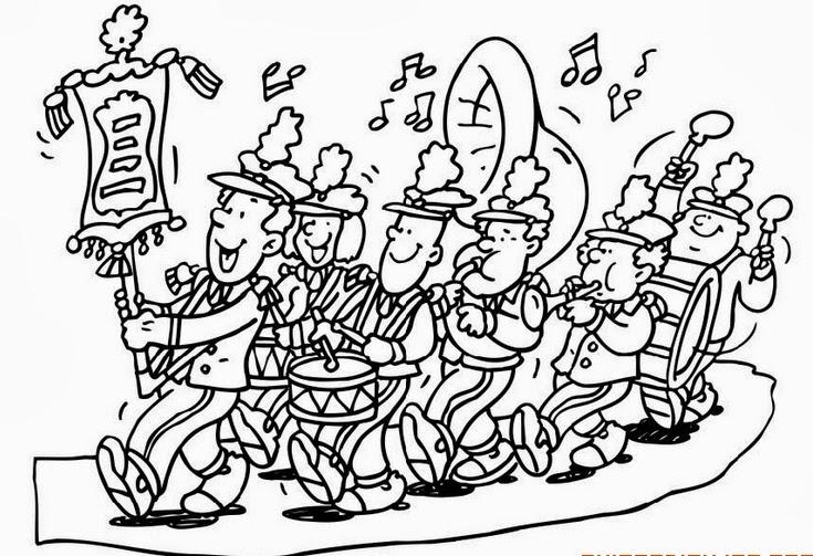 NEGRO SOBRE BLANCO: ¡Que suene la banda! (y 2)