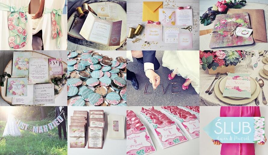 Projekt Ślub: oryginalne zaproszenia ślubne i dodatki weselne, niepowtarzalne projekty indywidualne