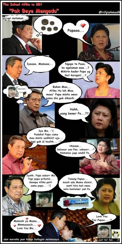 Meme Afika SBY dan Bu Ani Yudhoyono