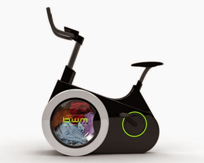 Bike Washing Machine lavadora de ropa a pedales bici