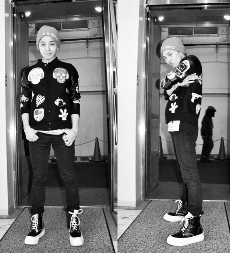 g dragon dressing style related